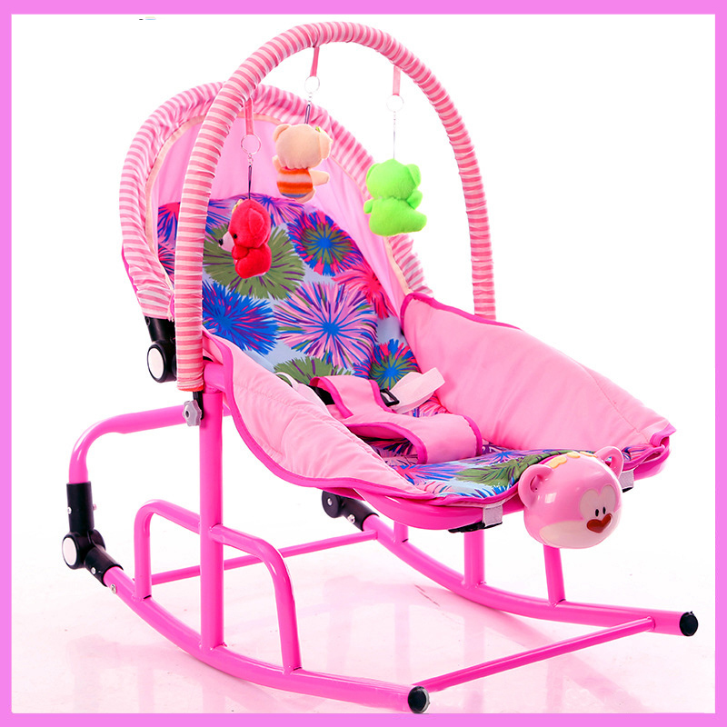 Baby Cradle Bed Small Shaker Collapsible Baby Shakes Changeable Newborn Rocking Chair Lightweight Sleepy Baby Rocking Chair newborn sleeping bed primi electric cradle baby shaker rocking bed