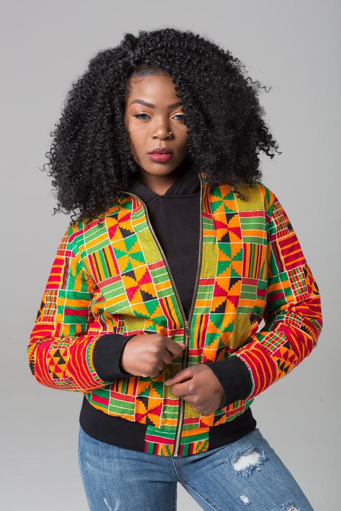 DARSJUCBD 2018 Herbst Neue Sexy Indie Folk Frauen Jacke Mantel Dashiki Afrikanische Gedruckt Reißverschluss Bomberjacke Mantel Hohe Qualität