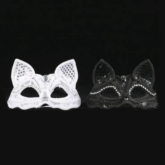 Women's Cat Shape Mask