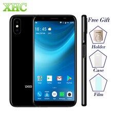 WCDMA 3G DOOGEE X55 Android 7.1 5,5 zoll Smartphones MTK6580 Quad Core 1 GB RAM 16 GB ROM 8.0MP + 8.0MP 2800 mAh Dual-SIM-Handy telefon