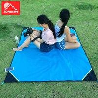 Outdoor Waterproof Camping Mat Picnic For Grass Sleeping Moistureproof Cushion Beach Blanket Portable Mattress