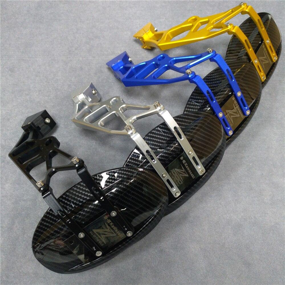4 couleur roue arrière pneu garde-boue garde-boue bloc pour Kawasaki Z1000 Z1000SX 2010-2016 moto garde-boue arrière