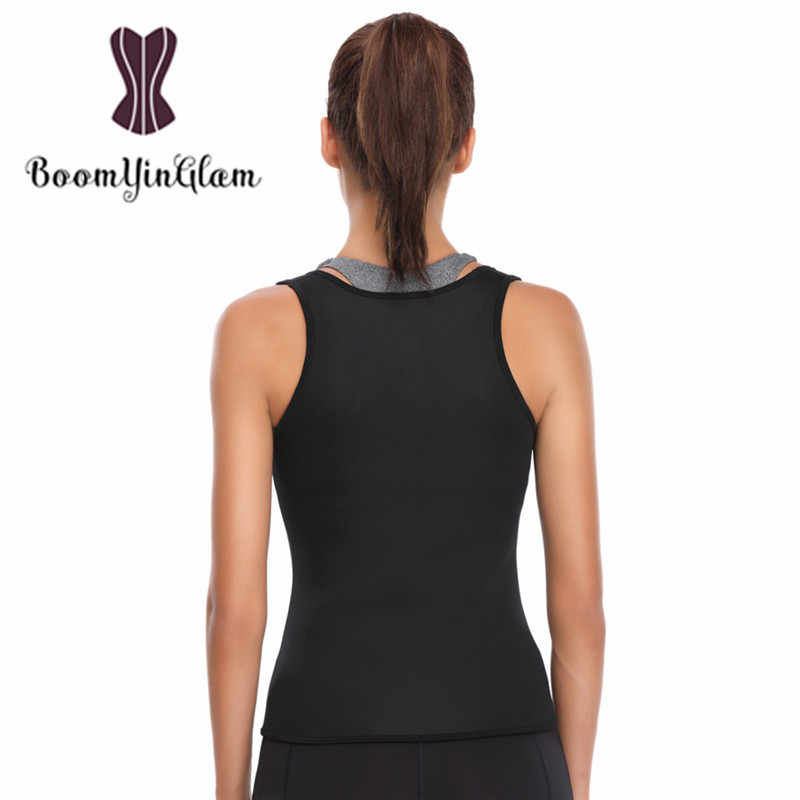 fa4bd9e3bc ... Shoulder Straps Thermo Hot Shapers Neoprene Women Body Slimming  Shapewear Waist Trainer Sweat Sauna Vest for ...