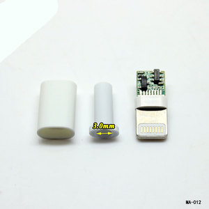 Image 5 - Cltgxdd溶接タイプ8ピンオスプラグusbコネクタアダプタコンバータ用iphone 5 5 s 6 6 s 7 8プラス