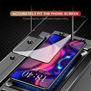 Image 4 - Gehärtetem Glas Für Huawei Y9 Y6 Pro Y7 2019 Volle Abdeckung Screen Protector für Huawei Y7 Y5 Y6 Prime 2018 y7s Glas Schutz Film