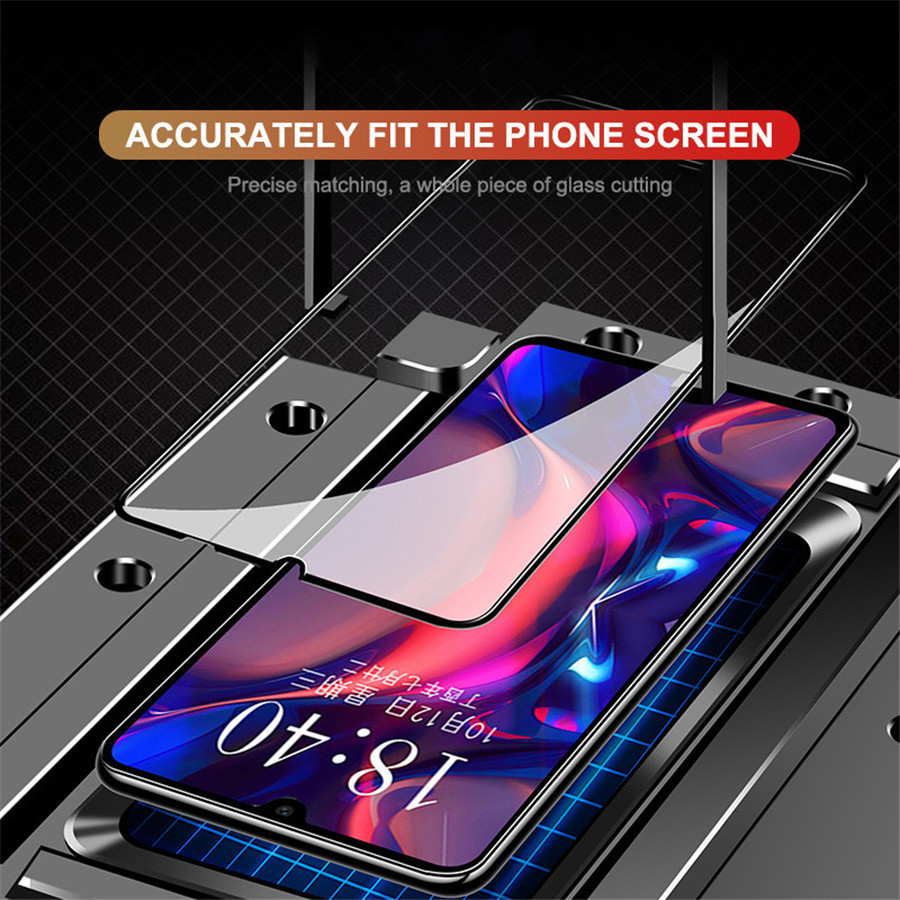 Image 4 - Tempered Glass For Huawei Y9 Y6 Pro Y7 2019 Full Cover Screen Protector for Huawei Y7 Y5 Y6 Prime 2018 Y7s Glass Protective Film-in Phone Screen Protectors from Cellphones & Telecommunications