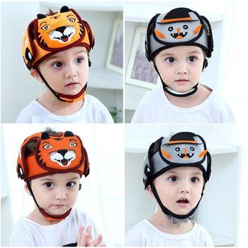 Baby safety headguard cap infant adjustable  helmet toddler bebe soft cap honnet for  Crawl Walking Running Outdoor Playing защитный детский шлем