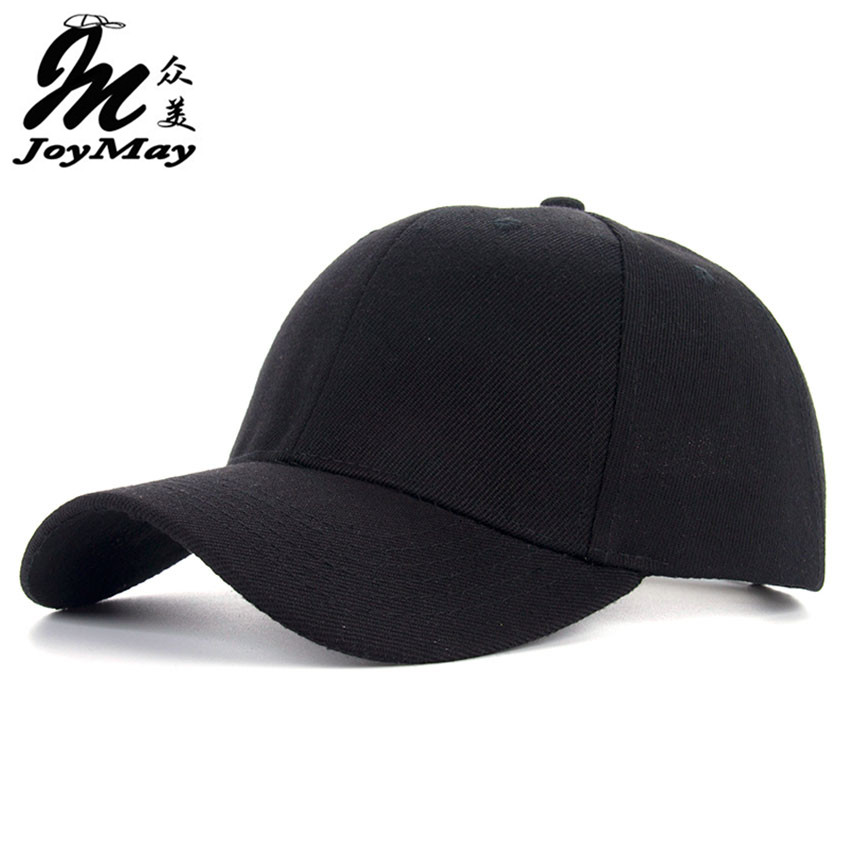 JOYMAY  Baseball Cap Men Snapback Caps Casquette Brand Bone Hats For Men Women Chapeau Plain Gorras Blank New Hat B337 [wareball] fashion cap for men and women leisure gorras snapback hats baseball caps casquette grinding hat outdoors sports cap