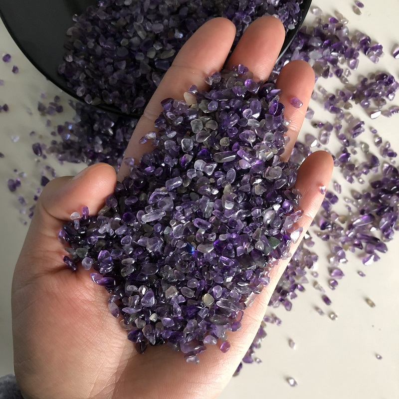 happy family 100g Natural Mini Amethyst Point Quartz Crystal Stone Rock Chips Lucky Healing  natural stoneshappy family 100g Natural Mini Amethyst Point Quartz Crystal Stone Rock Chips Lucky Healing  natural stones