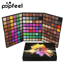 Popfeel 162 Colors Eyeshadow Palette Long Lasting Matte Shimmer Eye Shadow Makeup Kits Women Professional Eyes Cosmetic