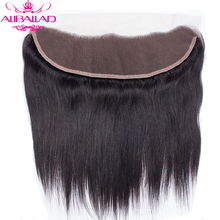 Hair-Products Closure Human-Hair Lace-Frontal Pre-Plucked Straight Brazilian 13x4 To