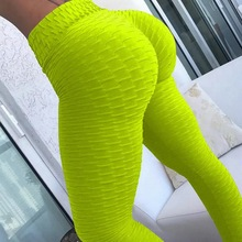 10colors Hot Women Yoga Pants Sexy Sport leggings Push Up Tights Gym Leggings High Waist Fitness Running Slim Athletic Trousers
