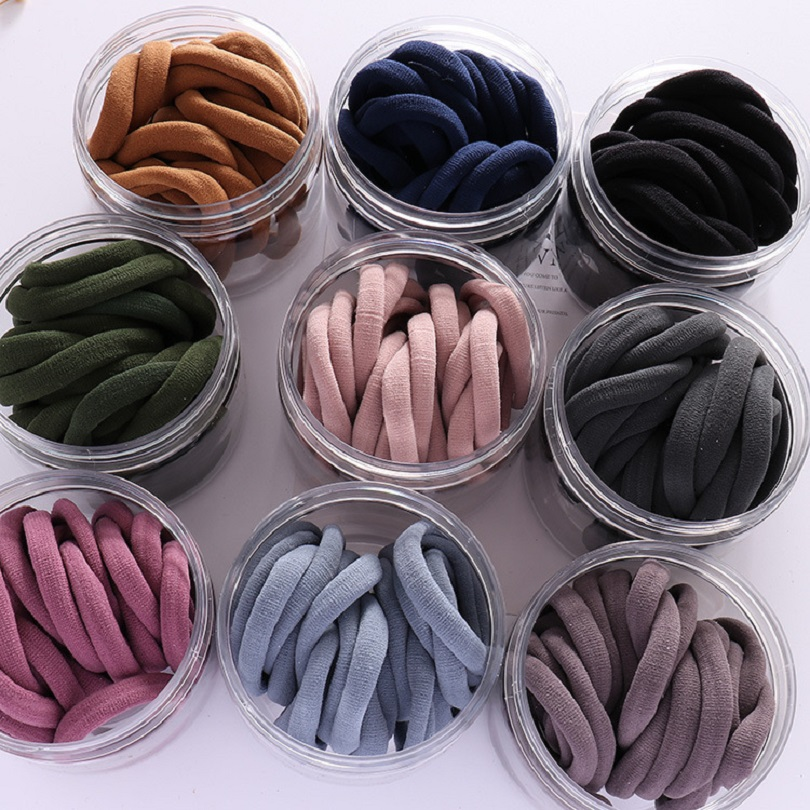 20PCS Elastic Hair Bands Girls Hair Accessories Rubber Band   Headwear   Hair Rope Shape Hair Ties Gum Telephone Wire