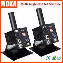 2Pcs/Lot DJ Adjustable Angle 0-90Degree Co2 Jet Machine+6 Meters Hose CO2 Canon Jet Machine