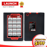 LAUNCH X431 V 8 Inch Global Version Auto Full System Diagnostic Scanner 2 Years Free Update