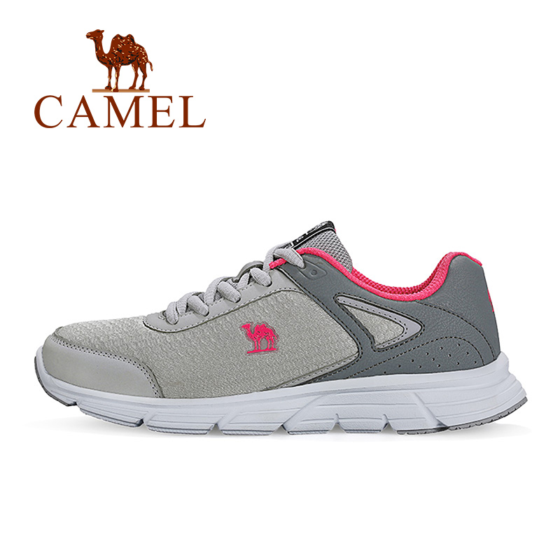 CAMEL Women's Running Shoes Wear Resistant Sneakers Comfortable Breathable Sports Shoes CP Life For Outdoors