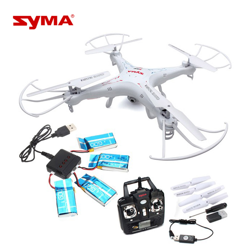 Drone Professional Syma X5C Drone with 2.0MP HD Camera RC Quadcopter with 3D Flips Headless Mode Helicopteros Radio Control syma x15w drone with 0 3mp camera wifi fpv rc quadcopter g sensor barometer set height headless mode 3d flips app control drone