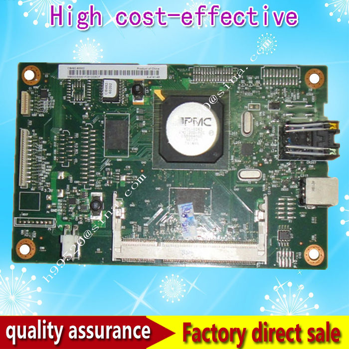 Original CB492-60002  Formatter Board for HP CP2025 CP2025n CP2025DN cp 2025 2025dn logic Main Board MainBoard mother board formatter pca assy formatter board logic main board mainboard mother board for hp m775 m775dn m775f m775z m775z ce396 60001