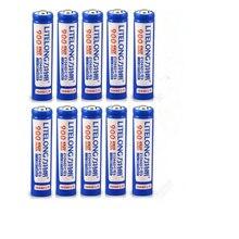 Супер мощная Емкость 3,7 в 10440 литиевая батарея фонарик электронная сигарета 900 мАч AAA аккумуляторная батарея