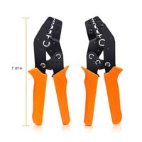 2019 NEW Crimping Plier Set Wire Crimper Kit With 450Pcs Wire Connectors Cold Rolled Tubular Terminal Self Adjustable Connecto