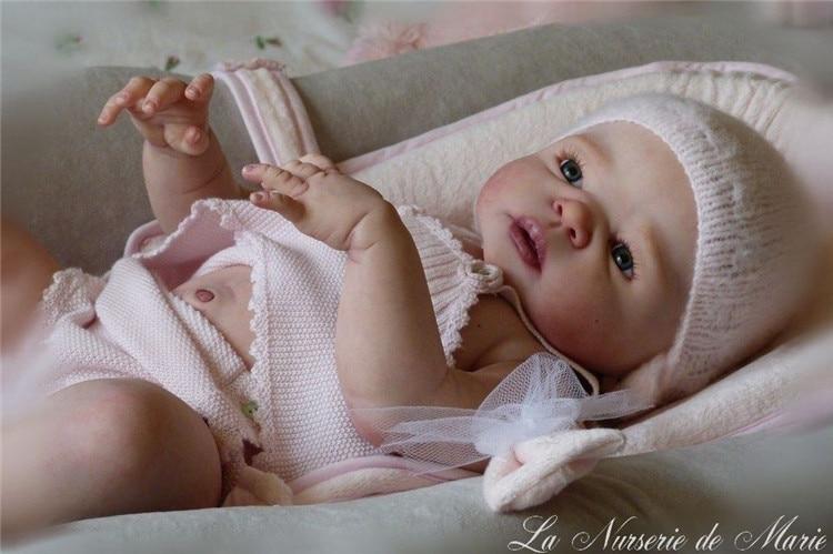 Reborn doll kits unpainted blank doll kit Newborn Girl and Boy Baby Doll kits Doll Parts