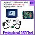 2017 de Calidad Superior V4.94 Digiprog III Digiprog3 con FTDI Cuentakilómetros Maestro Programador OBD versión Digiprog 3 V4.94 Nave Libre de DHL
