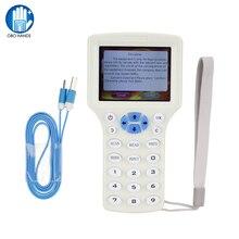 OBO HANDS 10 английская Частота RFID Копир/Писатель/ридер/Дубликатор 125 кГц USB 13,56 rfid Писатель и считыватель брелок программист