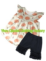 Boutique Cute Pig Design Clothes High Quality Summer Girl Outfits