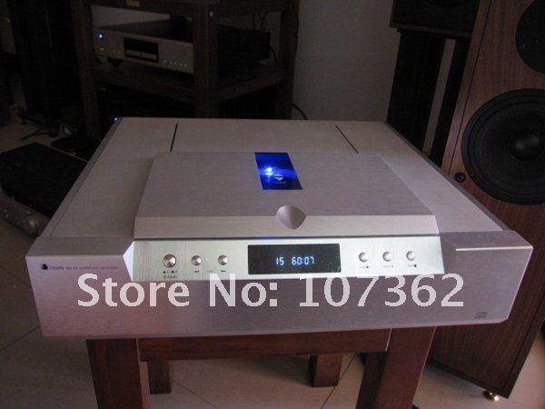 Free Shipping Bada Hd 26 Vacuum Tube Cd Player Silver -8188