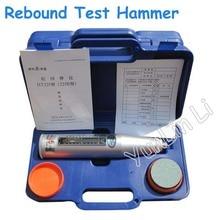 Concrete Rebound Schmidt Hammer Tester 10~60Mpa Resiliometer Test Meter High Polymer Material Resiliometer Testing Tool HT-225B