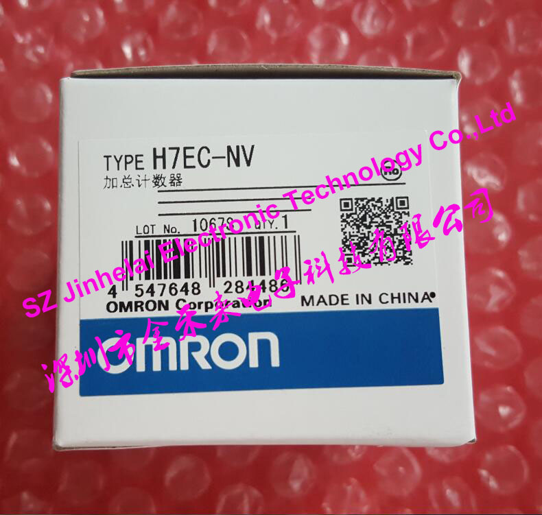 H7EC-NV  New and original  OMRON  Time counter, Total counter 4.5-30V new and original e3x da11 s omron optical fiber amplifier photoelectric switch 12 24vdc