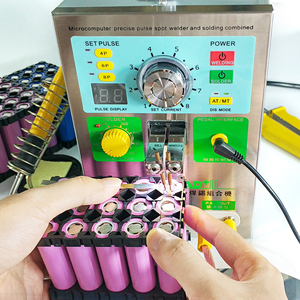 Image 3 - SUNKKO 3.2KW 709AD+ spot welder machine pulse spot welding for 18650 battery pack Production with welding pen and soldering iron