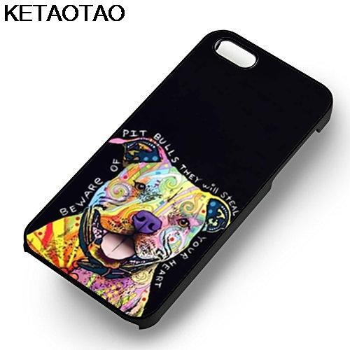 KETAOTAO Остерегайтесь питбуль телефон чехлы для iPhone 4S 5C 5S 6 6 S 7 8 Plus X для samsung S5 6 Примечание Чехол Мягкий ТПУ Резиновая силиконовые