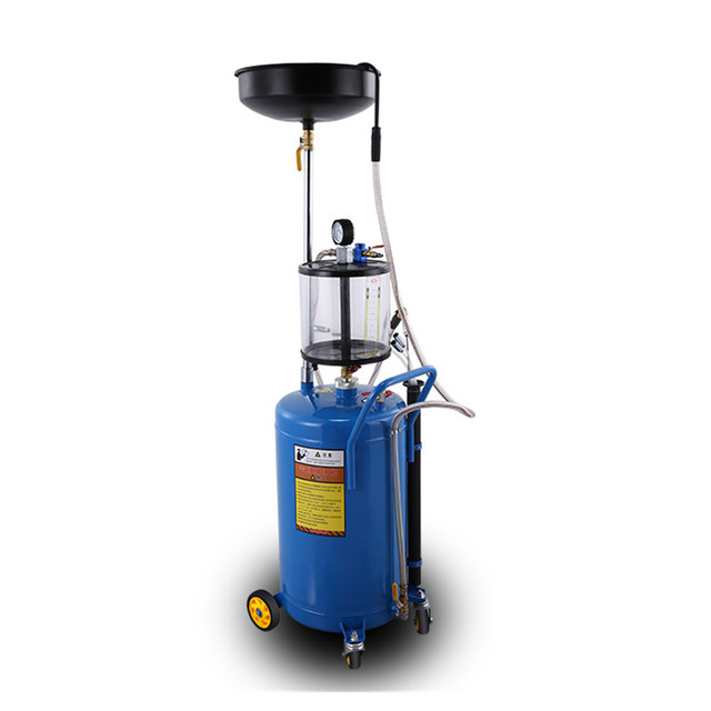 Medical Vacuum Extractor Machine ~ Litre portable pneumatic waste oil suction drain