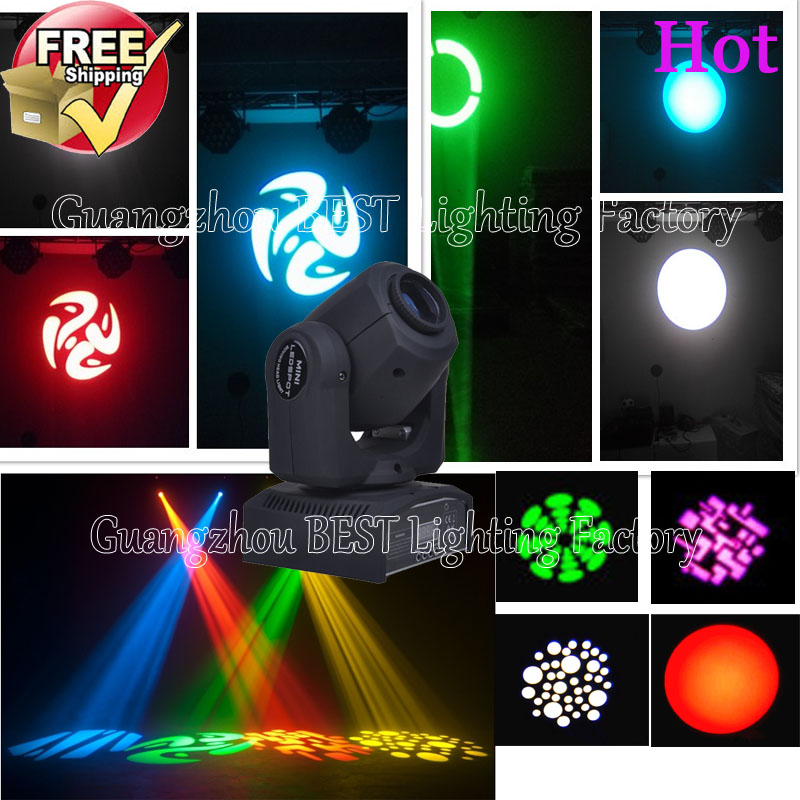 8pcs/lot DMX Stage Spot Moving 8/11 Channels LED 30W Moving Head Free Shpping niugul dmx stage light mini 10w led spot moving head light led patterns lamp dj disco lighting 10w led gobo lights chandelier