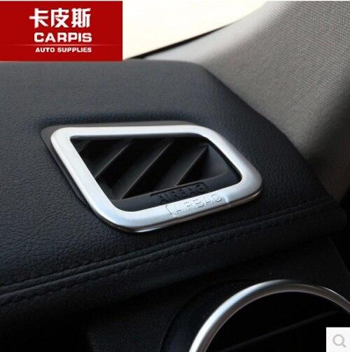 Chrome Car Dashboard Air Outlet Cover Frame Trim Sticker For Range Rover Sport 2010 2011 2012