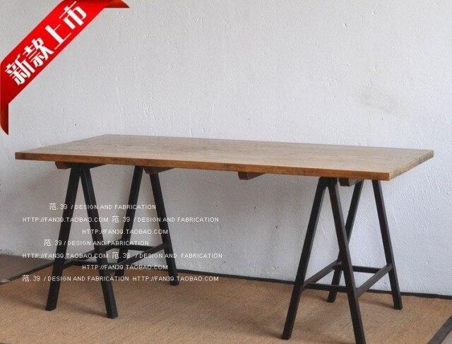 Pays damérique pour faire le vieux mobilier en fer forgé bois de