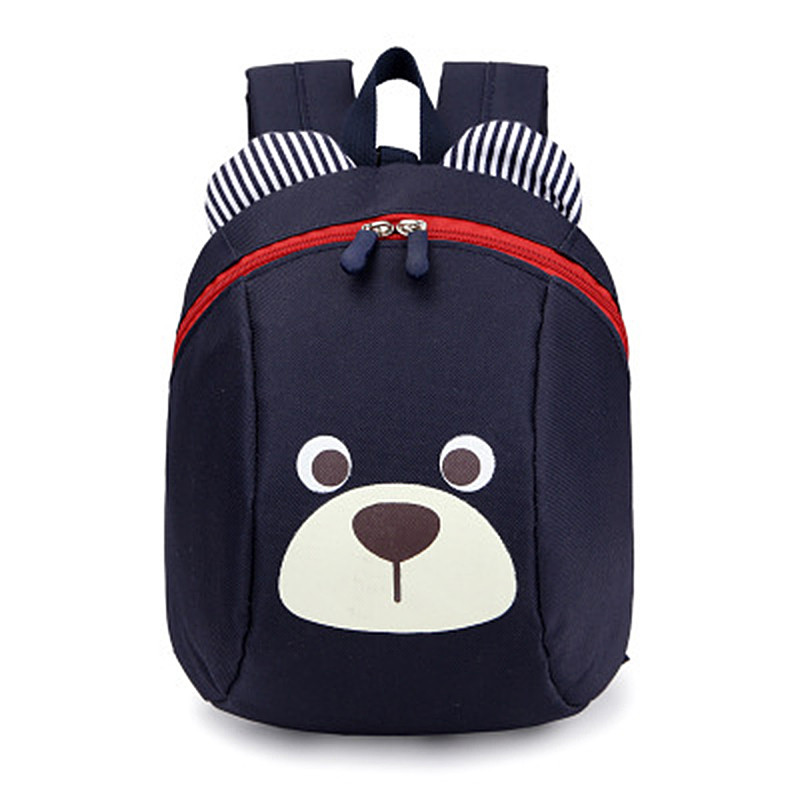 kindergarten backpack Anti-lost kids baby bag cute animal dog panda children backpacks school bag for boys girls mochila escolar minions ninja mini messenger bag children cute animal dog cat horse printing school bags boys kids book bag for snack best gift