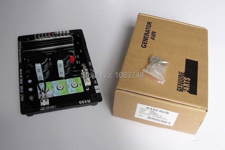 цена на R450 AVR for Generator LEROY SOMER regulators generator voltage
