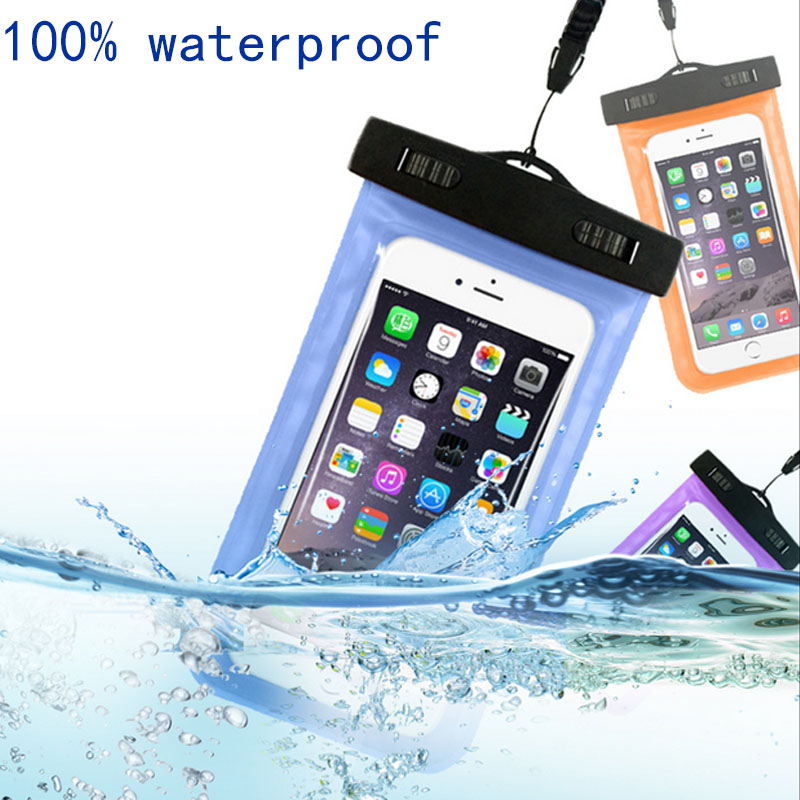 Hot sale Transparent Waterproof Underwater Pouch Dry Bag