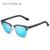 2016 VEITHDIA Aleación Al-mg Polarizadas Vintage Retro gafas de Sol Hombres Diseñador de la Marca de Gafas de Sol Cuadradas gafas de sol oculos 6690