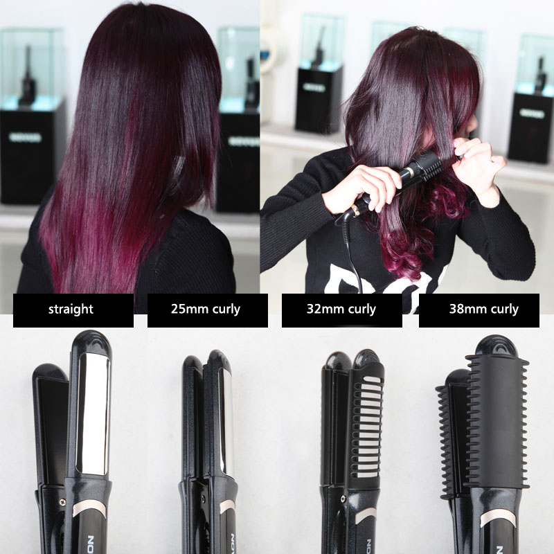 Brush Straightening Women for