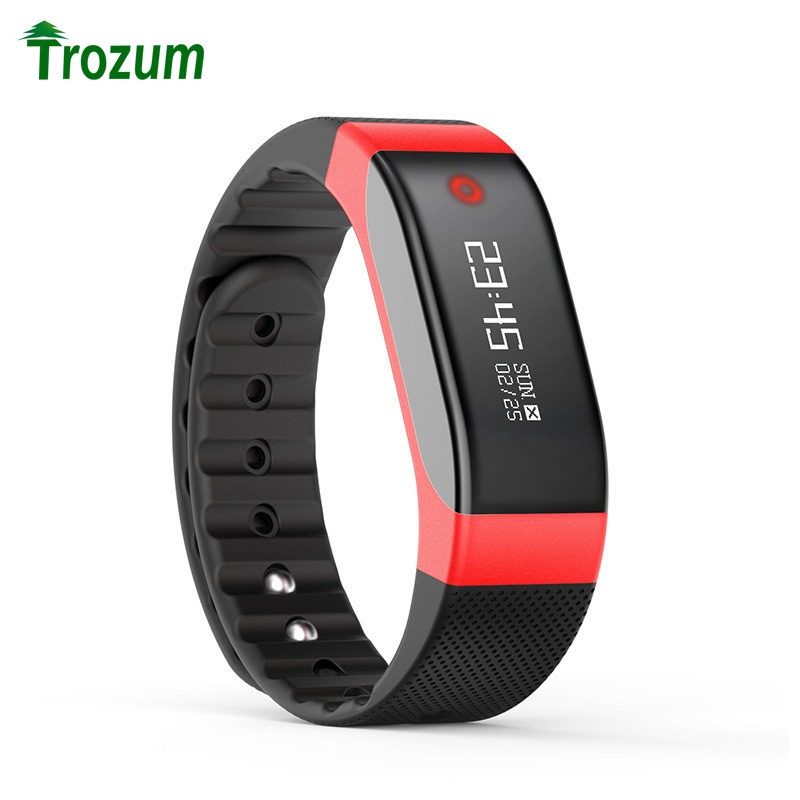 TROZUM Smart Wristband SMA Watch Heart Rate Monitor Bluetooth Android OLED Screen SmartBand Bracelet Pedometer Fitness
