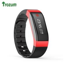 TROZUM Смарт Браслет SMA Часы Heart Rate Monitor Bluetooth Android Oled-экран SmartBand Браслет Шагомер Фитнес SmartBand