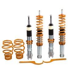 for Volkswagen VW Polo MK4 6N 1.0L 1.4L Coilovers Absorber Spring Shock Struts Suspension Coilover Strut Shock