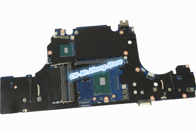 SHELI FOR Dell Precision 15 (7510) Laptop Motherboard <font><b>i5</b></font> <font><b>6300HQ</b></font> CPU Y4C16 0Y4C16 CN-0Y4C16 DDR4 image