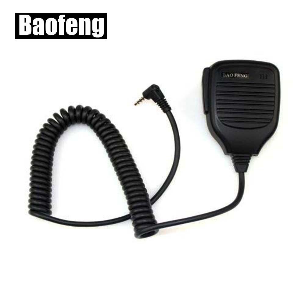 XQF Handheld Microphone Speaker Mic For Baofeng UV-3R Walkie Talkie Remote