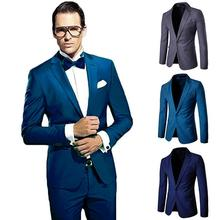 Dress Mens Blazers And Suit Jackets Blazer Suit Casual Men Blazer Slim Fit Camisa masculina Black Navy Gray цена