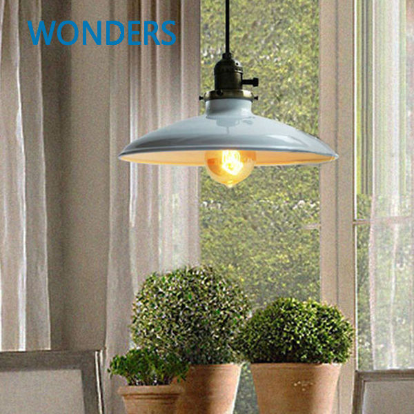Loft Vintage Pendant Home Light Pendant Lights Fixture Ceiling Lamp Retro Industrial Iron Home Decor Edison Pendant Light