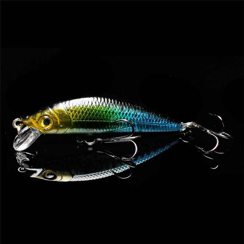 Yuewins qualité méné appâts de pêche 7 cm 7.9g 3D yeux pêche Wobblers dur artificiel appâts Swimbait pesca QA208
